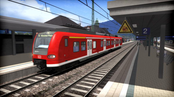 скриншот Train Simulator: Munich - Garmisch-Partenkirchen Route Add-On 5