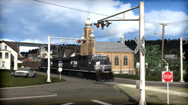 скриншот Norfolk Southern Coal District Route Add-On 1