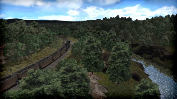 скриншот Norfolk Southern Coal District Route Add-On 3
