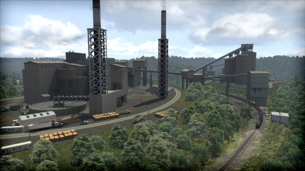 скриншот Norfolk Southern Coal District Route Add-On 0