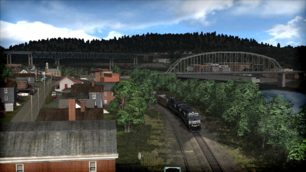 скриншот Norfolk Southern Coal District Route Add-On 2