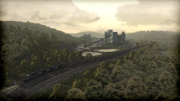 скриншот Norfolk Southern Coal District Route Add-On 5