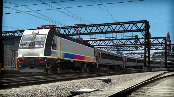 скриншот Train Simulator: NJ TRANSIT ALP-46 Loco Add-On 3