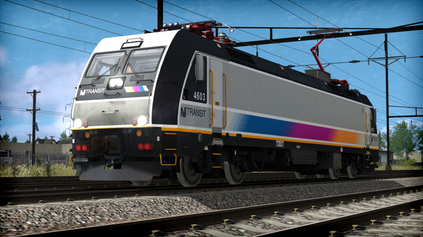 скриншот Train Simulator: NJ TRANSIT ALP-46 Loco Add-On 0