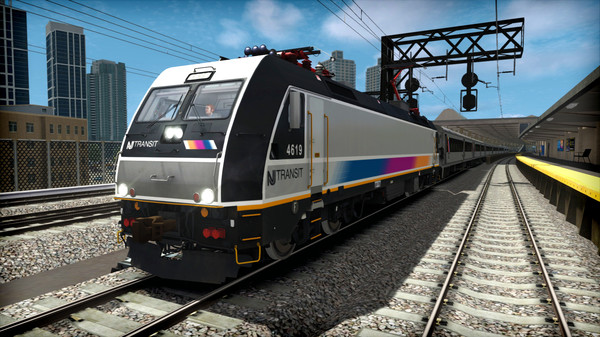 скриншот Train Simulator: NJ TRANSIT ALP-46 Loco Add-On 5