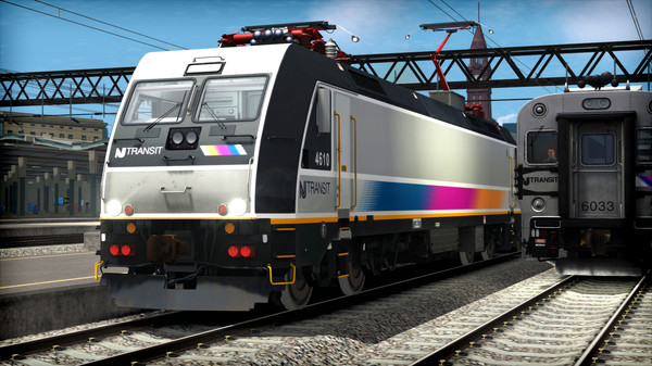 скриншот Train Simulator: NJ TRANSIT ALP-46 Loco Add-On 2