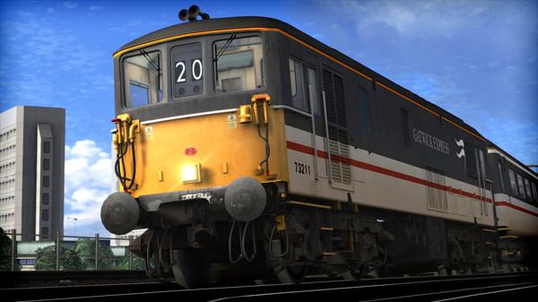 скриншот Train Simulator: BR Class 73 'Gatwick Express' Loco Add-On 0