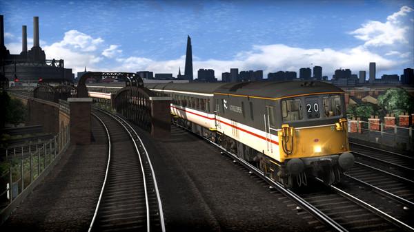 скриншот Train Simulator: BR Class 73 'Gatwick Express' Loco Add-On 1