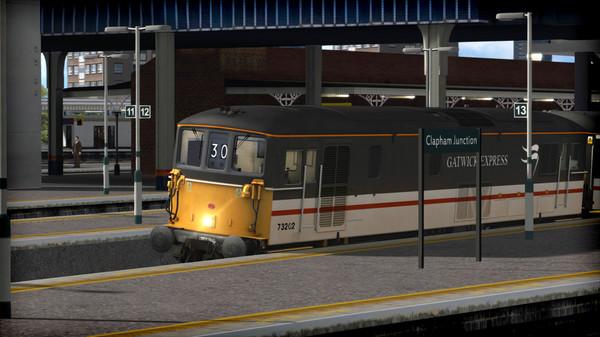 скриншот Train Simulator: BR Class 73 'Gatwick Express' Loco Add-On 2