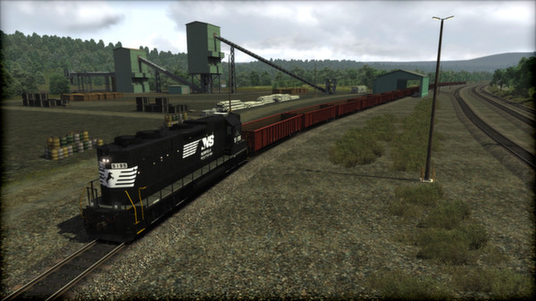 скриншот Train Simulator: Norfolk Southern GP38-2 High Hood Loco Add-On 1