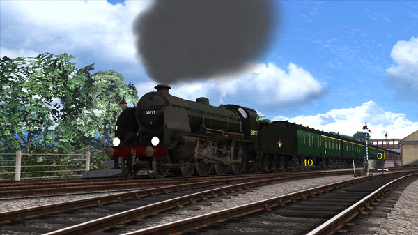 скриншот Train Simulator: N15 King Arthur Class 'Sir Lamiel' Loco Add-On 4