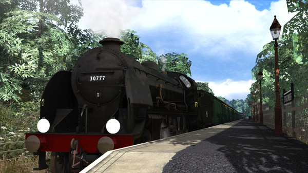 скриншот Train Simulator: N15 King Arthur Class 'Sir Lamiel' Loco Add-On 1