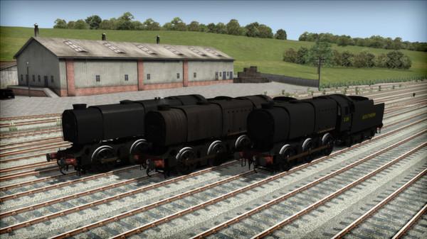 скриншот Bulleid Q1 Class Loco Add-On 4
