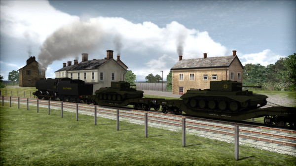 скриншот Bulleid Q1 Class Loco Add-On 3