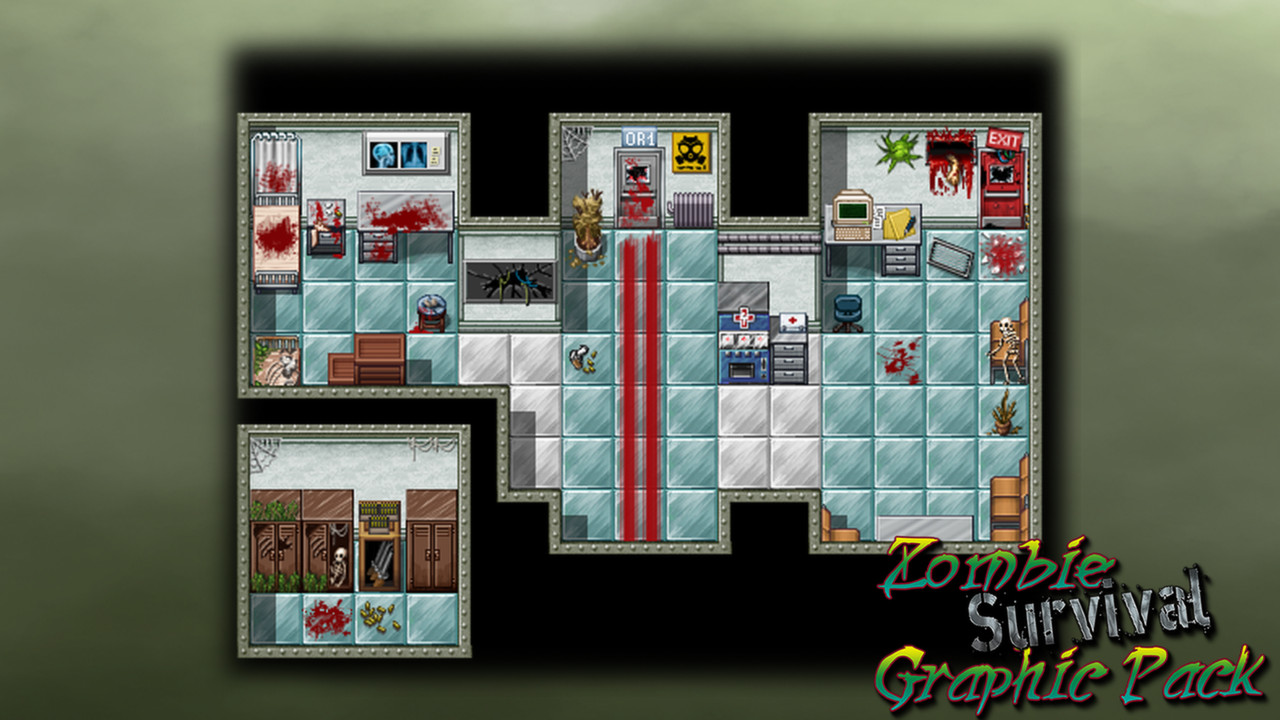 RPG Maker VX Ace - Zombie Survival Graphic Pack Steam Discovery
