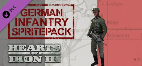 Купить Hearts of Iron III: German Infantry Pack DLC