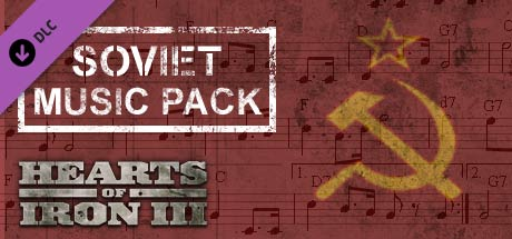 Купить Hearts of Iron III: Soviet Music Pack DLC