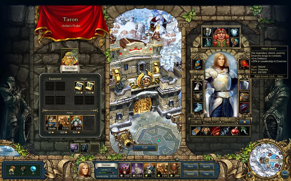 king bounty the legend spolszczenie