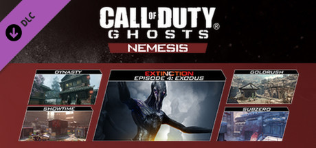 Call of Duty: Ghosts - Nemesis · AppID: 259253 · Steam Database Call Of Duty Ghosts Map Pack on