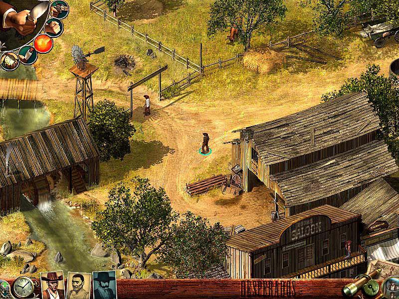 Desperados: Wanted Dead or Alive screenshot 2