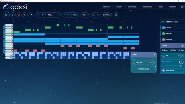 скриншот Odesi Music Composition 2