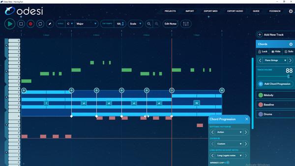 скриншот Odesi Music Composition 0