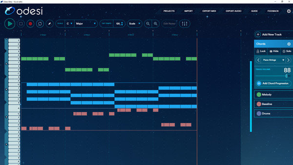 скриншот Odesi Music Composition 4