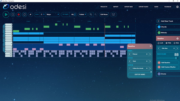 скриншот Odesi Music Composition 3
