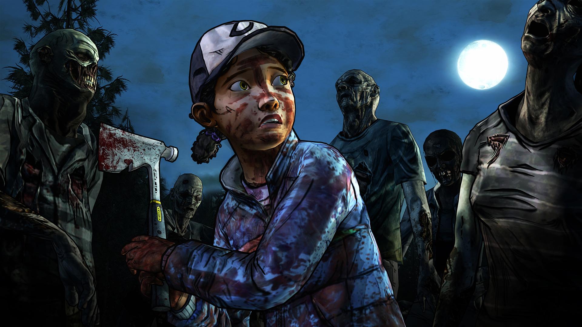 The Walking Dead Season On Steam - Skins para minecraft the walking dead