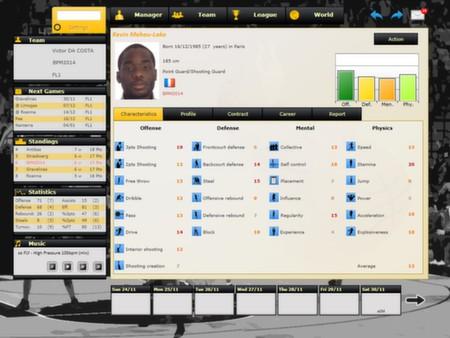 скриншот Basketball Pro Management 2014 2