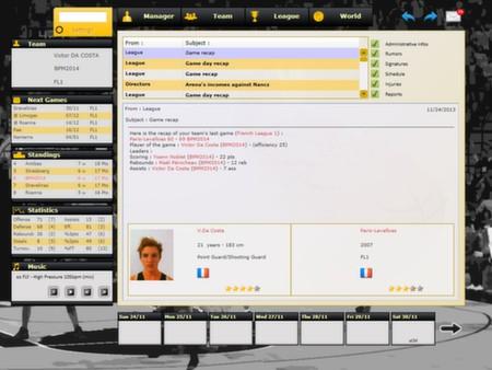 скриншот Basketball Pro Management 2014 0