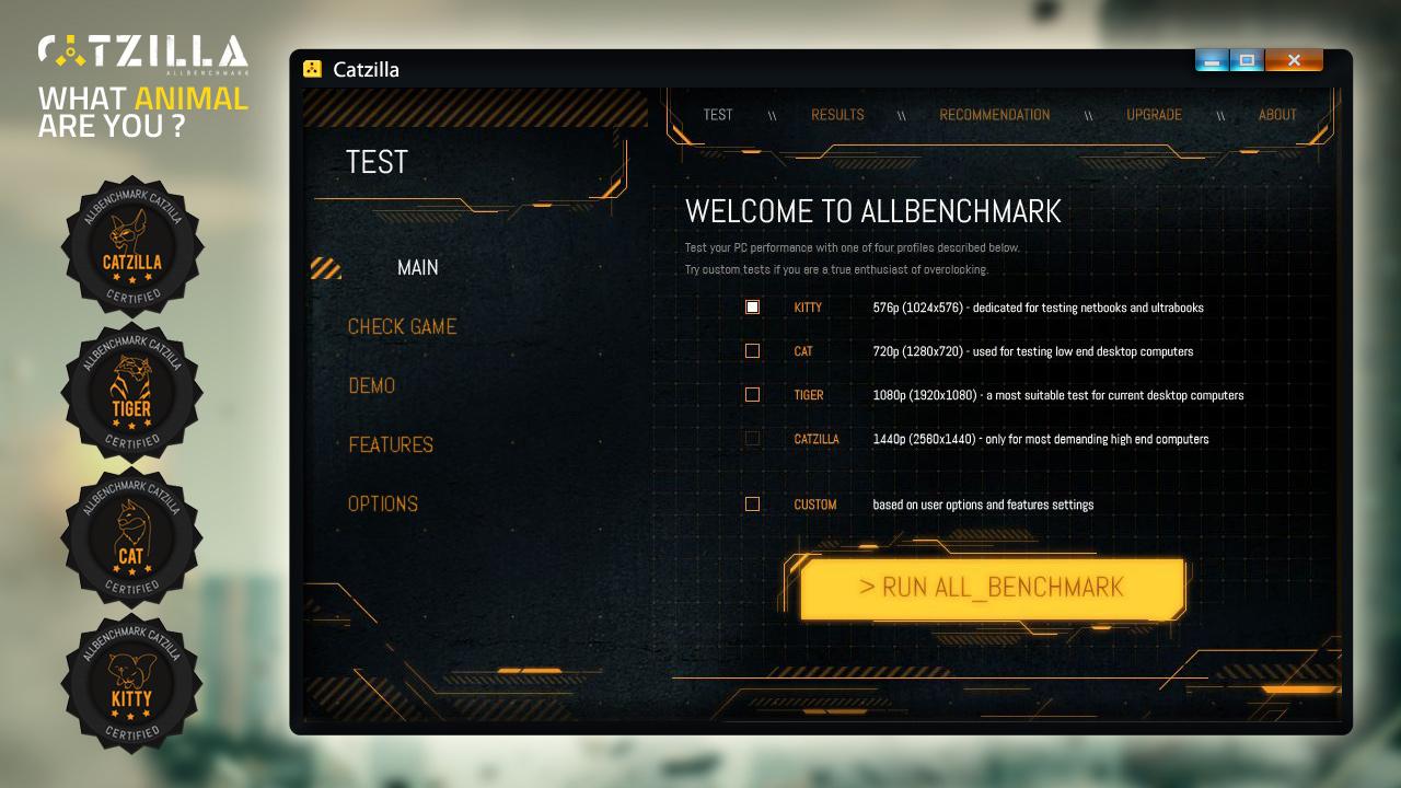 Catzilla 4K - Advanced