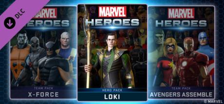 Marvel Heroes - Loki Pack
