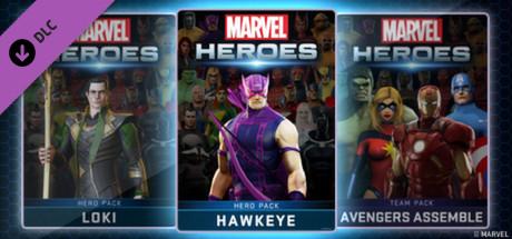 Marvel Heroes - Hawkeye Hero Pack