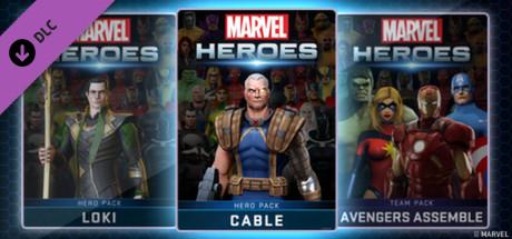 Marvel Heroes - Cable Hero Pack