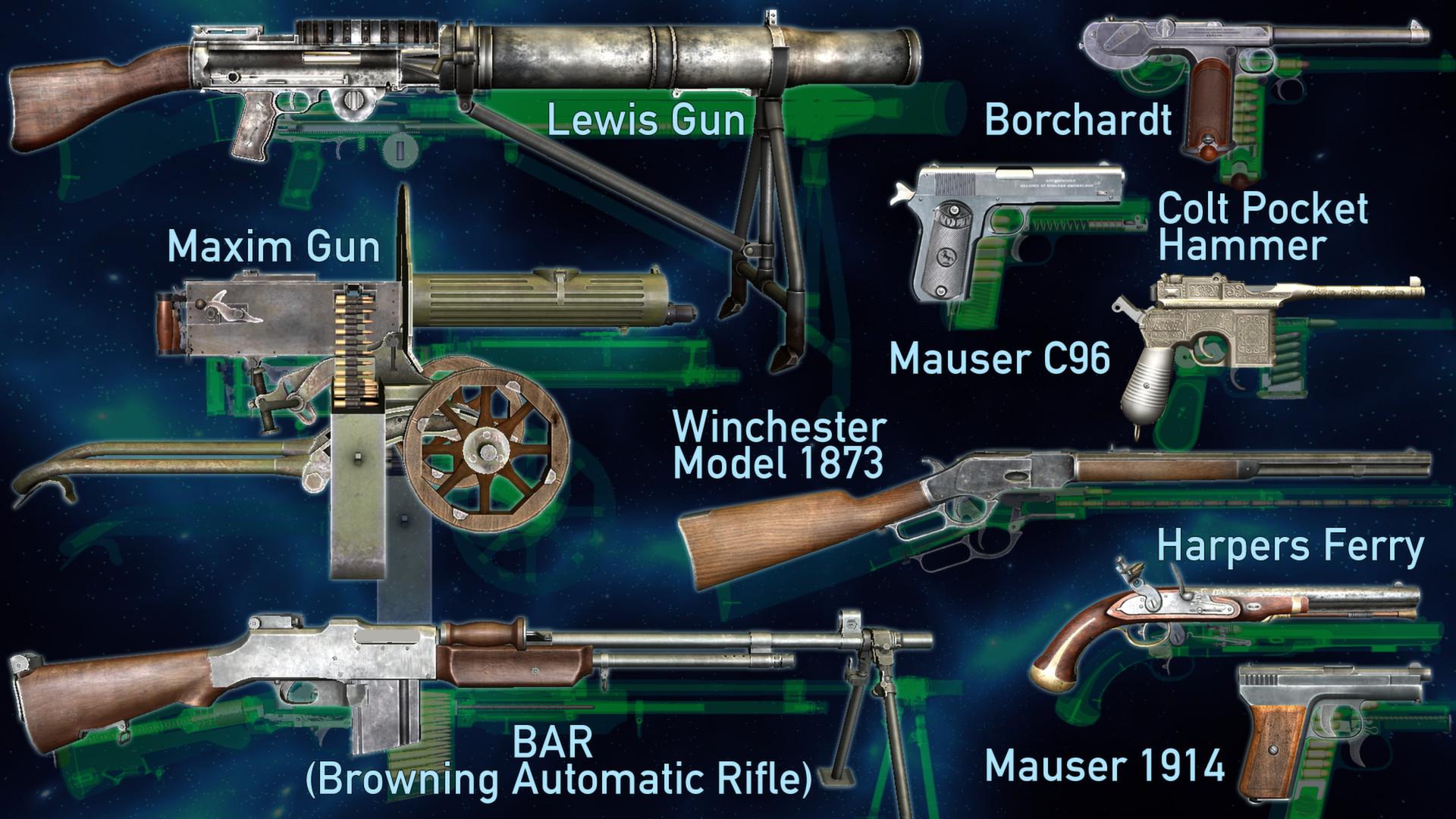 World Of Guns Gun Disassembly On Steam Mosin Nagant Schematic