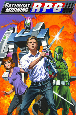 Saturday Morning RPG poster image on Steam Backlog