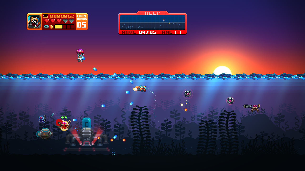 Aqua Kitty: Milk Mine Defender screenshot 3