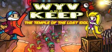 Game Banner Wyv and Keep: The Temple of the Lost Idol