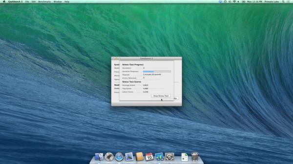 Скриншот из Geekbench 3