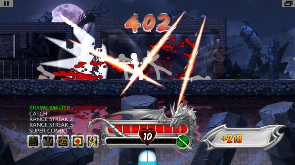 Screenshot of One Finger Death Punch