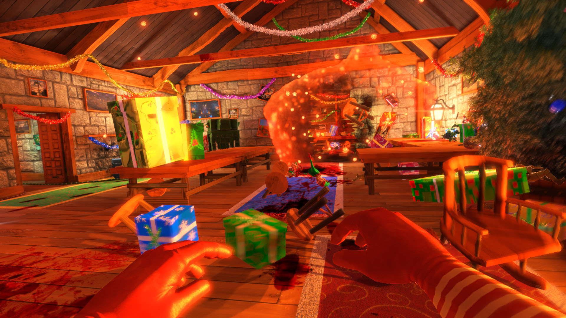 gratuitement viscera cleanup santa rampage