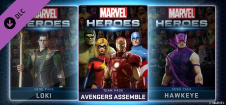 Marvel Heroes - Avengers Assemble Team Pack