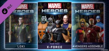 Marvel Heroes - X-Force Team Pack
