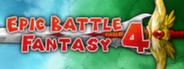 Epic Battle Fantasy 4 capsule logo