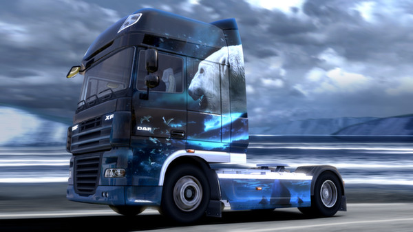 Euro Truck Simulator 2 - Ice Cold Paint Jobs Pack