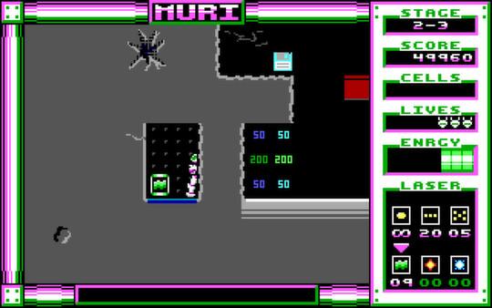 Screenshot of MURI