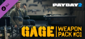 PAYDAY 2: Gage Weapon Pack #01