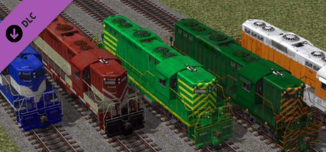US Diesel Locomotives - Set 1