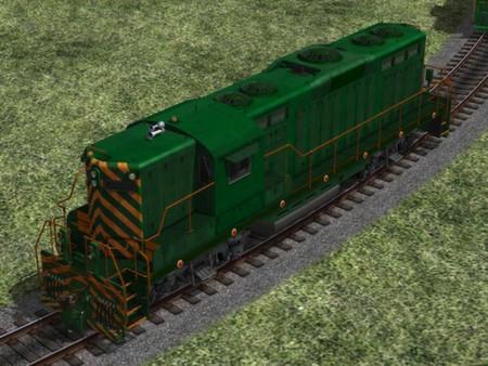 US Diesel Locomotives - Set 1